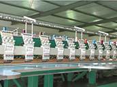 Application in textile machinery