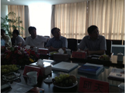 Welcome Shaobing Cao, Municipal Committee and Propaganda Minister of Chuzhou in Anhui Province present Synmot Electricity for guiding